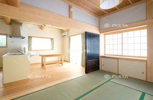 和室とリビングのイメージ写真