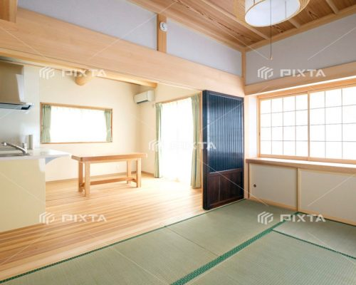 和室とリビングイメージ写真